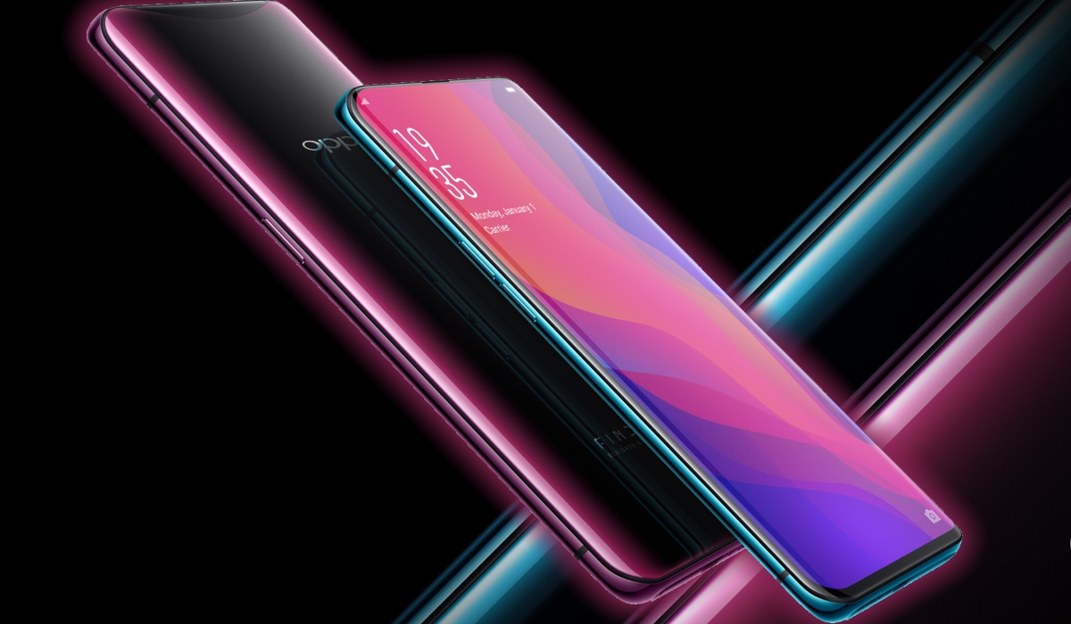 OPPO Launches FIND X: Almost No Bezels, Hidden Camera!