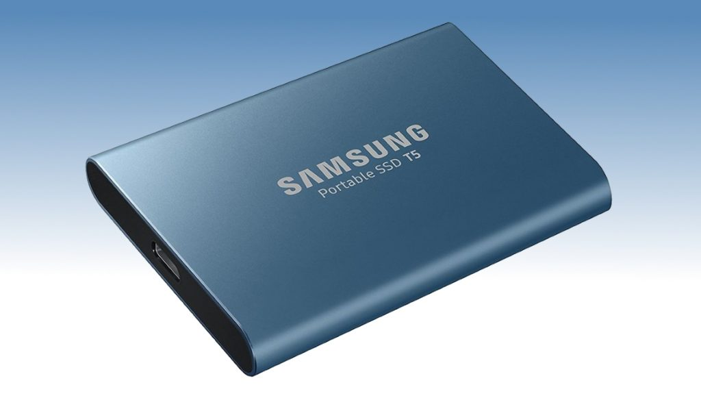 500 GB Samsung T5 Portable SSD