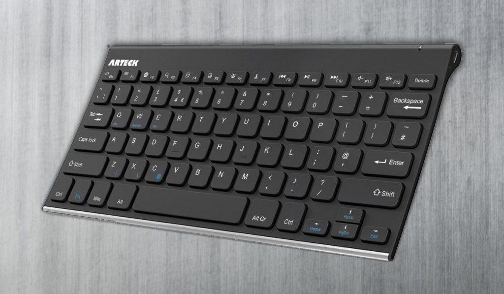Arteck Stainless Steel Universal Bluetooth Keyboard