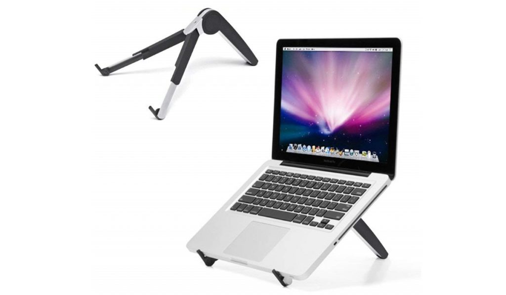 Compact laptop stand