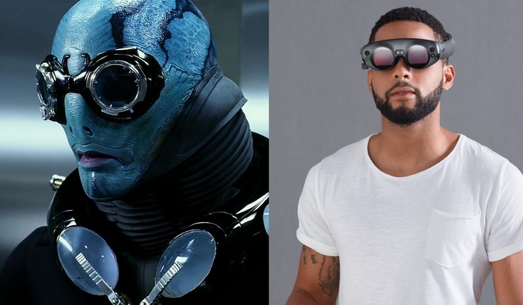 Actually, Hellboy fish guy looks pretty cool compared to the dude on the right...