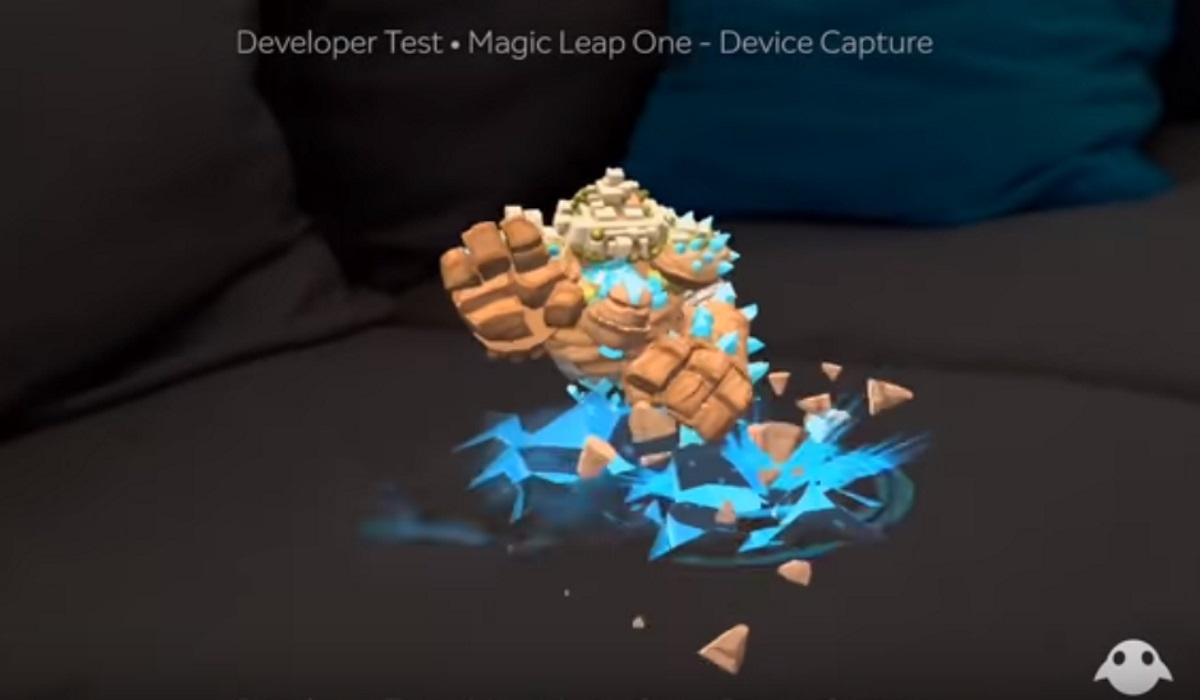 Magic Leap recorded demo