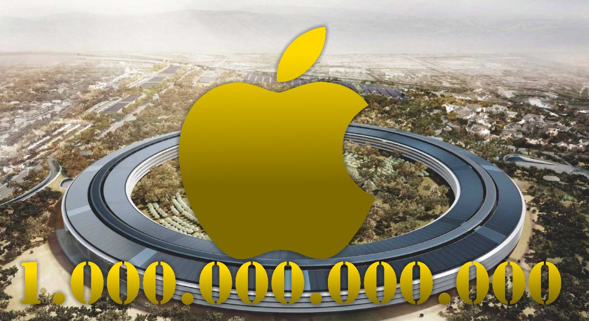 Apple Is The First Company To Be Worth 1 Trillion US Dollars