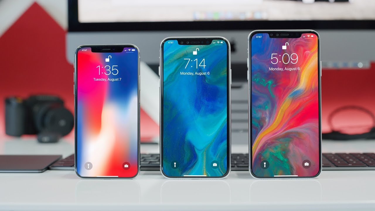 2018 iPhones Leak Online, Detailed Look At The 2018 iPhone X, iPhone X Lite And iPhone Plus!