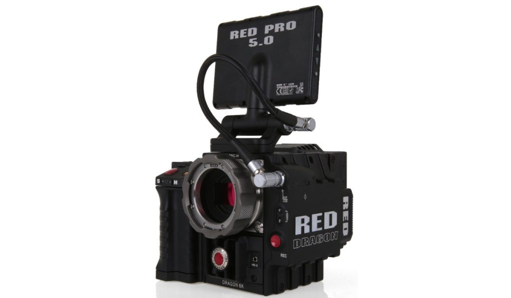 The Red Dragon 6K camera